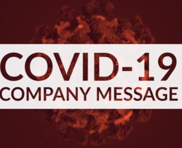 COVID-19 Company Message